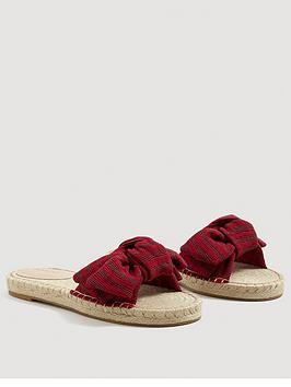 Mango Bow Slider Sandal