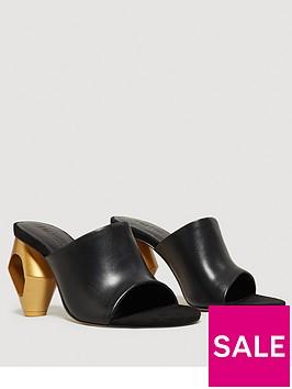 mango-abstract-heel-mule-black