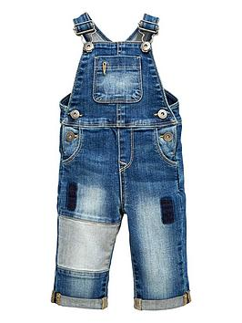 mini-v-by-very-baby-boys-stretch-denim-dungaree