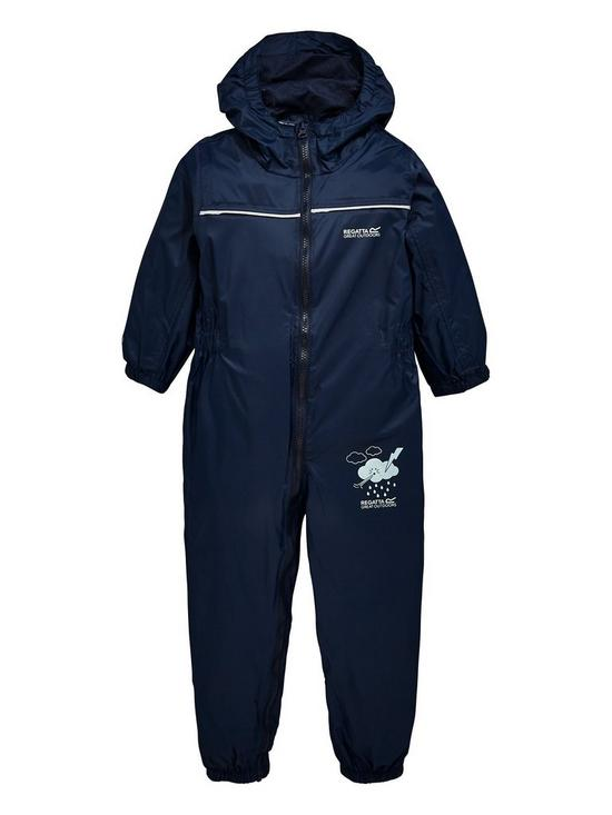 43bd9b52f656 Trespass Boys Dripdrop Rain Suit