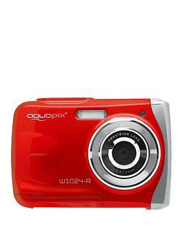 easypix-aquapix-w1024-r-039splash039-waterproof-camera-red