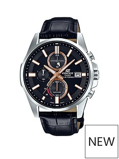 casio-edifice-casio-edifice-saphire-crystal-black-and-rose-gold-multi-dial-black-leather-strap-mens-watch