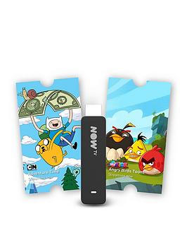 Now Tv Smart Stick With Hd, Voice Search + 3-Month Kids Pass