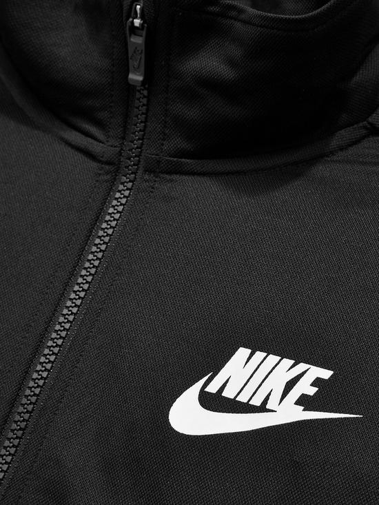 arrives ed706 f8429 ... Nike Sportswear Older Boys Poly Tracksuit - Black. 10 people have  looked at this in the last couple of hrs.