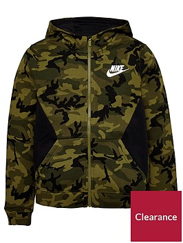 nike-nike-older-boys-nsw-club-fleece-camo-fz-hoodie