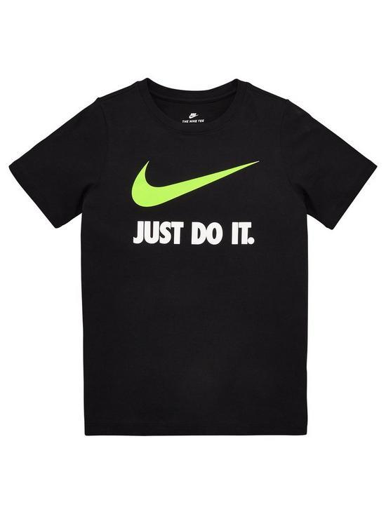 390ad5b6c Nike OLDER BOYS JDI SWOOSH TEE | very.co.uk