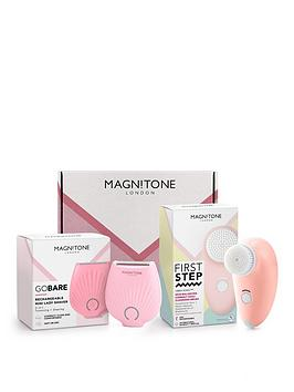 magnitone-london-limited-edition-smooth-skin-gift-pack-contains-first-step-vibra-sonic-face-brush-and-lady-shaver