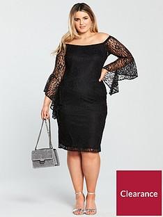 v-by-very-curve-bardot-lace-dress-black