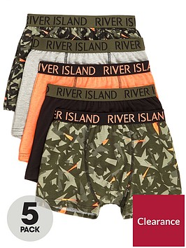 river-island-boys-khaki-camo-trunks-multipack