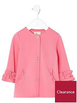 river-island-mini-girls-pink-frill-cuff-button-up-jacket