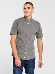 river-island-wasp-muscle-fit-denim-shirt