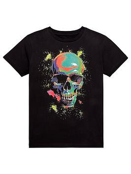 v-by-very-multicolour-skull-t-shirt