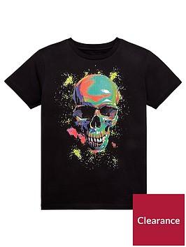 v-by-very-multicolour-skull-t-shirt