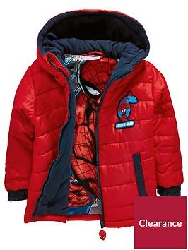 spiderman-spider-man-padded-boys-coat