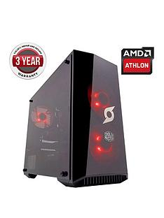 Zoostorm Stormforce Onyx AMD 200GE Processor, 8Gb RAM, 2Tb Hard Drive Gaming PC