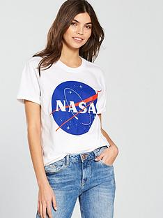 v-by-very-nasa-slogan-t-shirt-white
