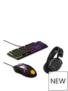 steelseries-arctis-7-headset-with-rival-600-mouse-and-apex-m750-keyboard-bundle