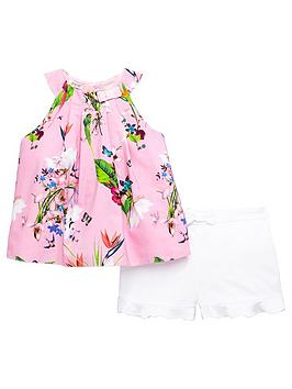 baker-by-ted-baker-toddler-girls-printed-top-amp-frill-short-outfit