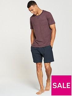 v-by-very-burgundy-t-shirt-and-jersey-shorts-pj-set