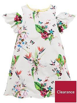 baker-by-ted-baker-girls-oasis-printed-cold-shoulder-dress