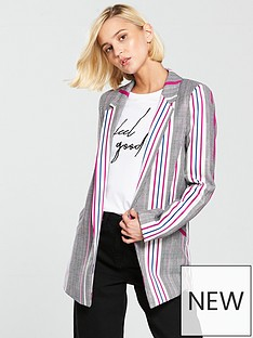 river-island-striped-checked-printednbspblazer-pink