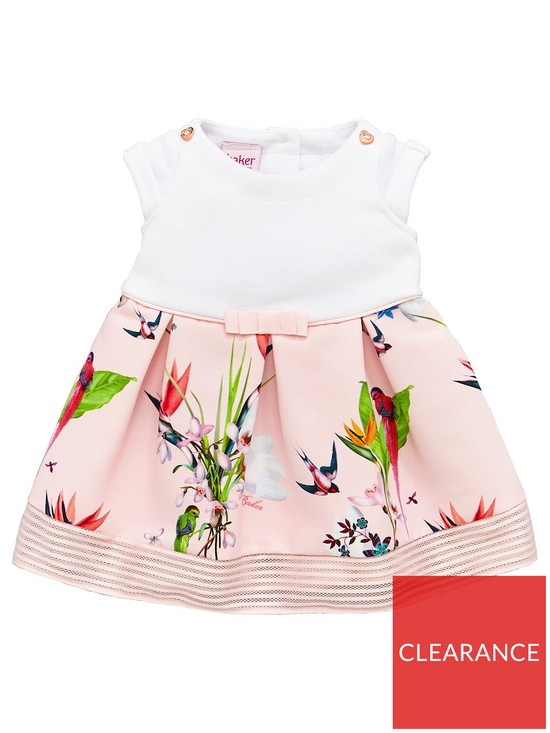 2cbc52ddc Baker by Ted Baker Baby Girls Oasis Mockable Dress