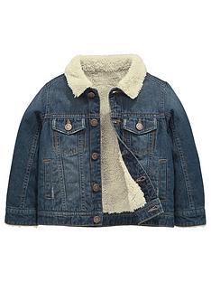 mini-v-by-very-fleece-lined-denim-jacket