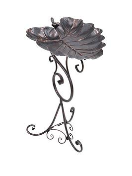 decorative-leaf-bird-bath