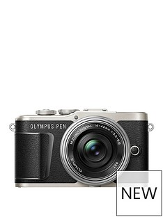 olympus-pen-e-pl9-compact-system-camera-in-black-with-14-42-ez-lens