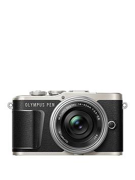 olympus-pen-e-pl9-compact-system-camera-with-14-42-ez-lens-black