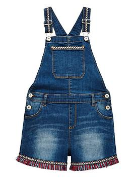 mini-v-by-very-girls-aztec-trim-dungaree