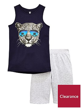 v-by-very-boys-tiger-vest-and-shorts-pj-set-multi