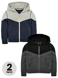 mini-v-by-very-2-pack-colour-block-zip-through-hoody