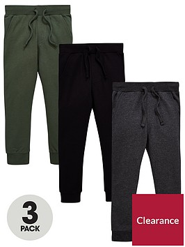 mini-v-by-very-boys-3-pack-joggers-in-black-grey-and-khaki-joggers-multi