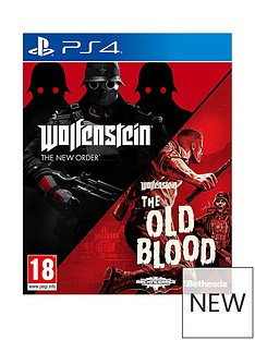 playstation-4-wolfenstein-double-pack-the-new-orderthe-old-blood-ps4