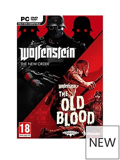 pc-games-wolfenstein-double-pack-the-new-orderthe-old-blood