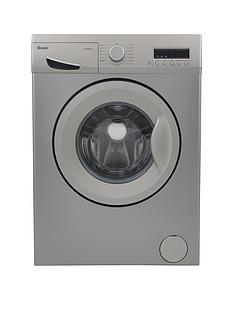 Swan SW15830S 8kg Load, 1200 Spin Washing Machine - Silver