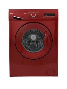 Swan SW15830R 8kg Load, 1200 Spin Washing Machine - Red