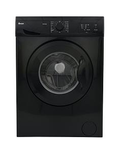 Swan SW15810B 6kg Load, 1200 Spin Washing Machine - Black