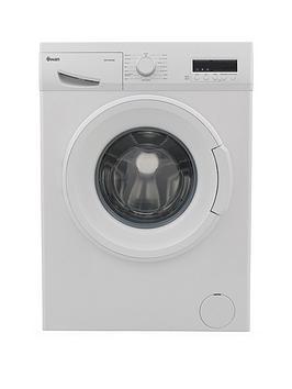 Swan Sw15840W 9Kg Load, 1200 Spin Washing Machine - White