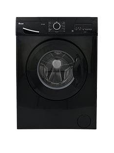 Swan SW15830B 8kg Load, 1200 Spin Washing Machine - Black