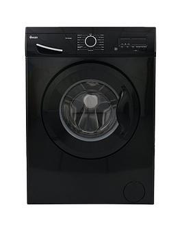 Swan Sw15830B 8Kg Load, 1200 Spin Washing Machine - Black