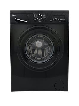Swan Sw15840B 9Kg Load, 1200 Spin Washing Machine - Black Best Price, Cheapest Prices