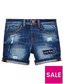 mini-v-by-very-boys-over-stitched-washed-panel-denim-short