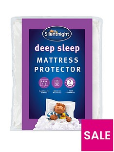 silentnight-deep-sleep-mattress-protector
