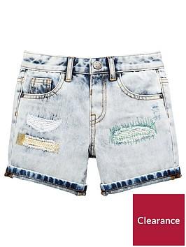 mini-v-by-very-toddler-boys-reversed-patch-distressed-denim-shorts-denim