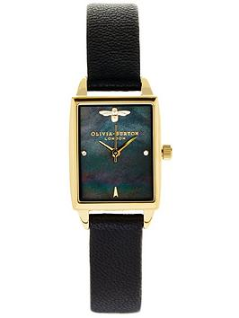 olivia-burton-bee-hive-mother-of-pearl-watch-black