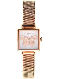 olivia-burton-3d-butterfly-mesh-strap-watch-rose-gold