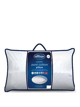 silentnight-luxury-collection-pure-cotton-cover-front-sleeper-pillow