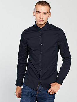 armani-exchange-ls-tonal-stripe-shirt